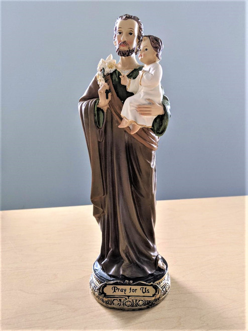 St. Joseph and Child 9""