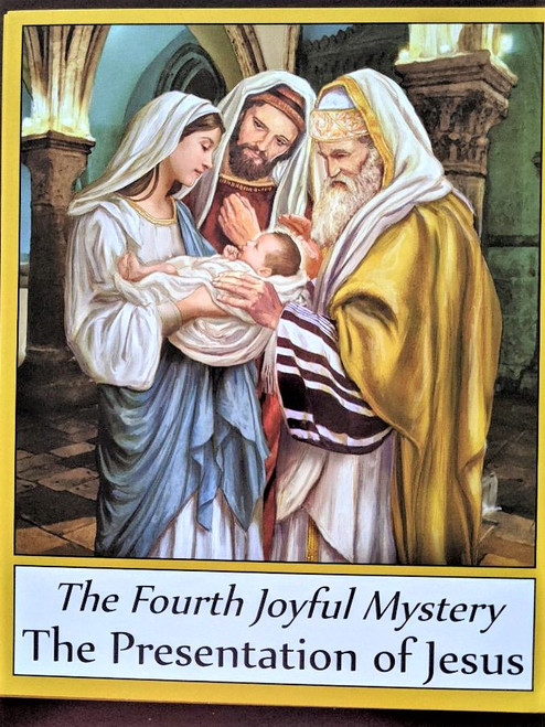 Mysteries of the Rosary card stock