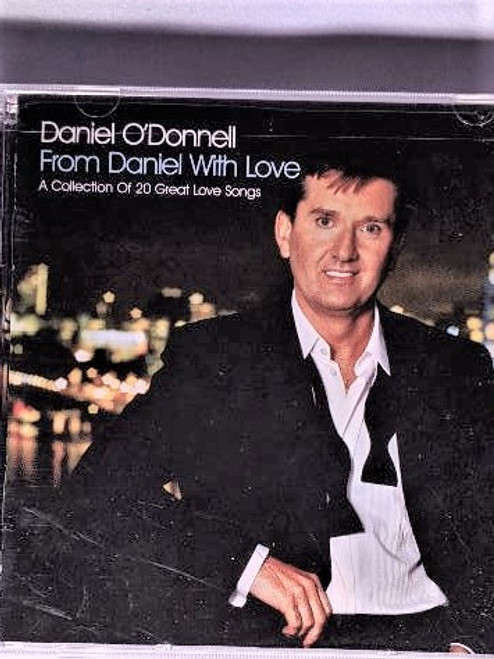 Irish CD From Daniel with Love