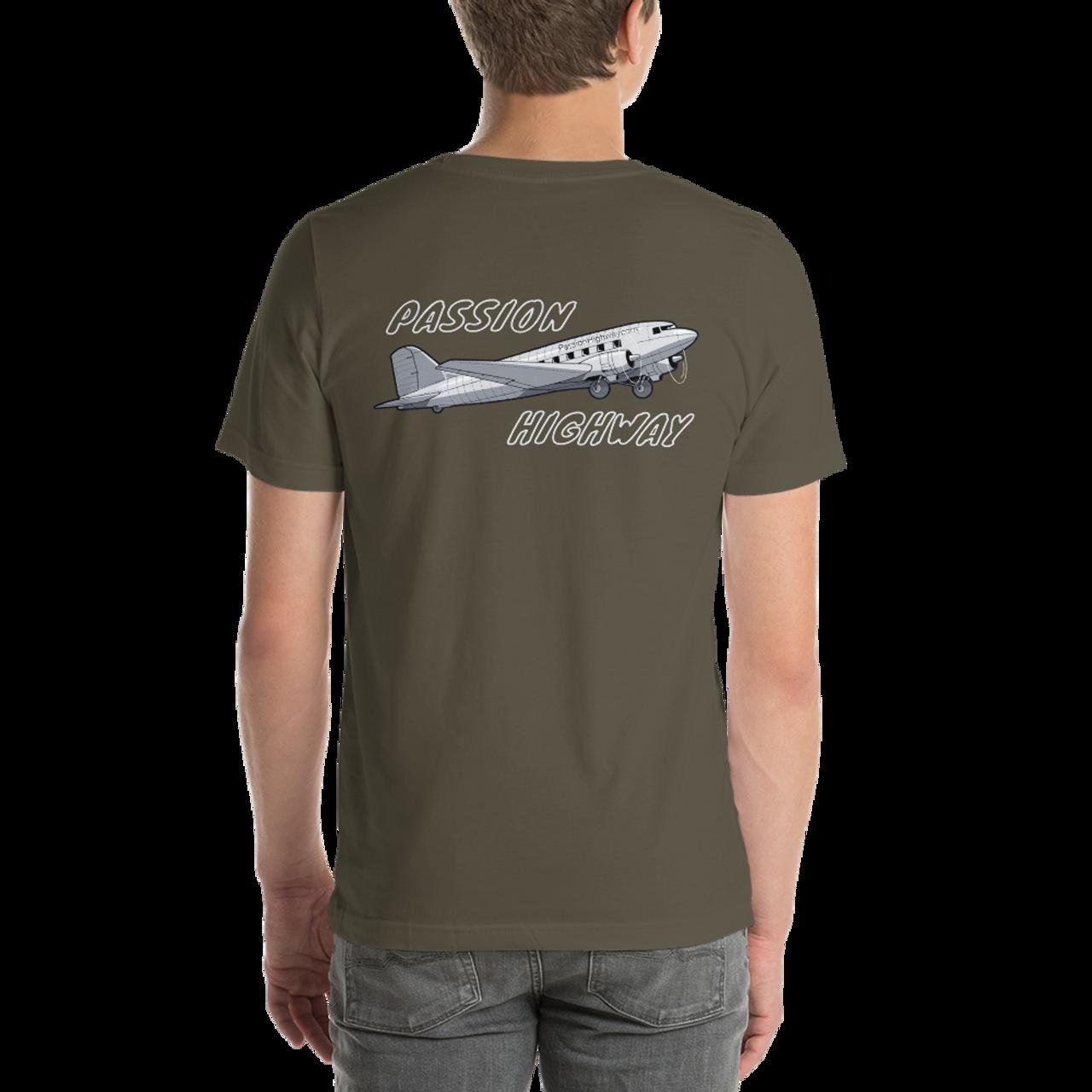 PH DC3 Aviation Graphic Tee