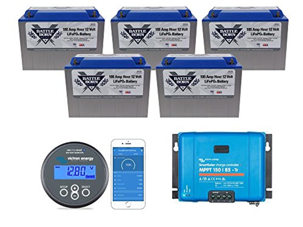 EXPLORIST.Life Lithium Battery Bundle 500ah