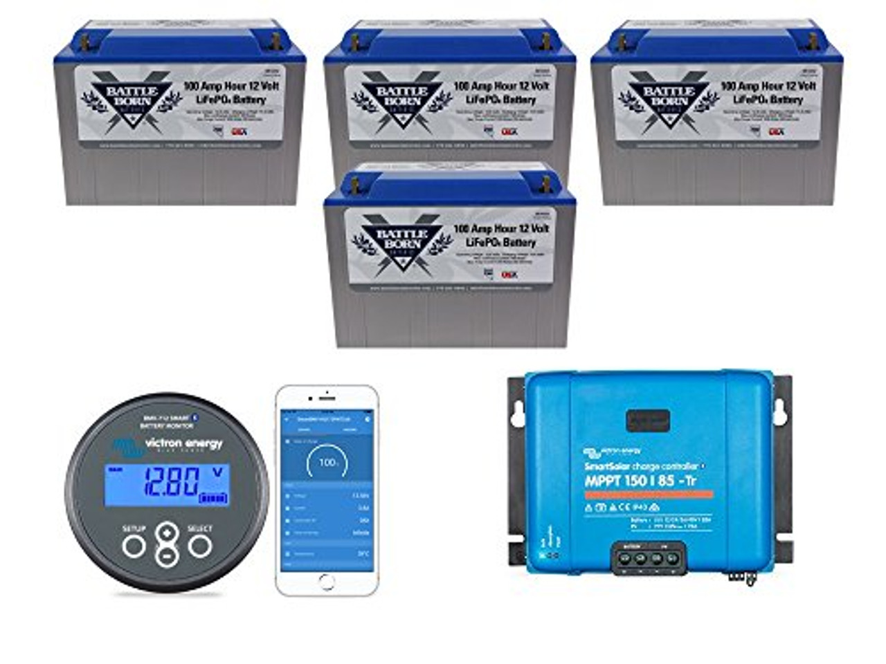 EXPLORIST.Life Lithium Battery Bundle 400ah