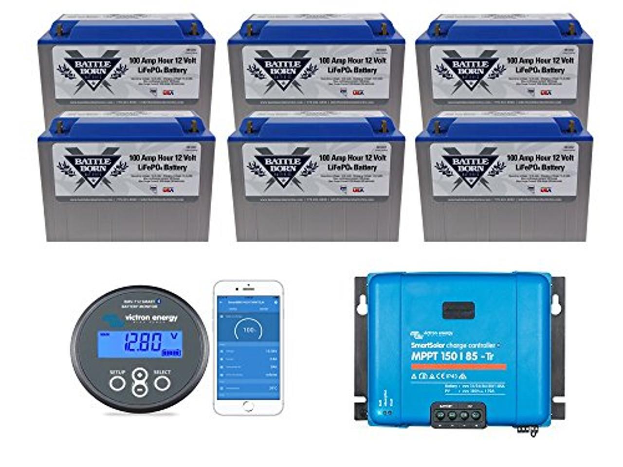 EXPLORIST.Life Lithium Battery Bundle 600ah
