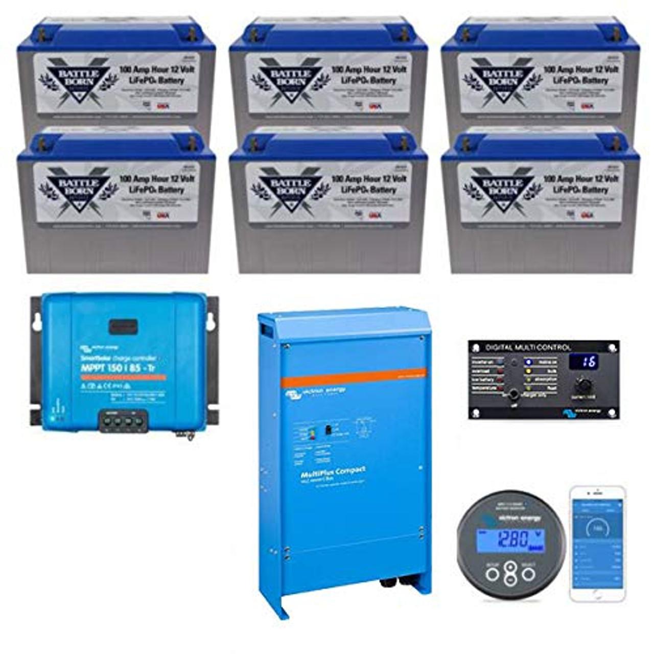 Battle Born Batteries EXPLORIST.Life 600ah Lithium Bundle