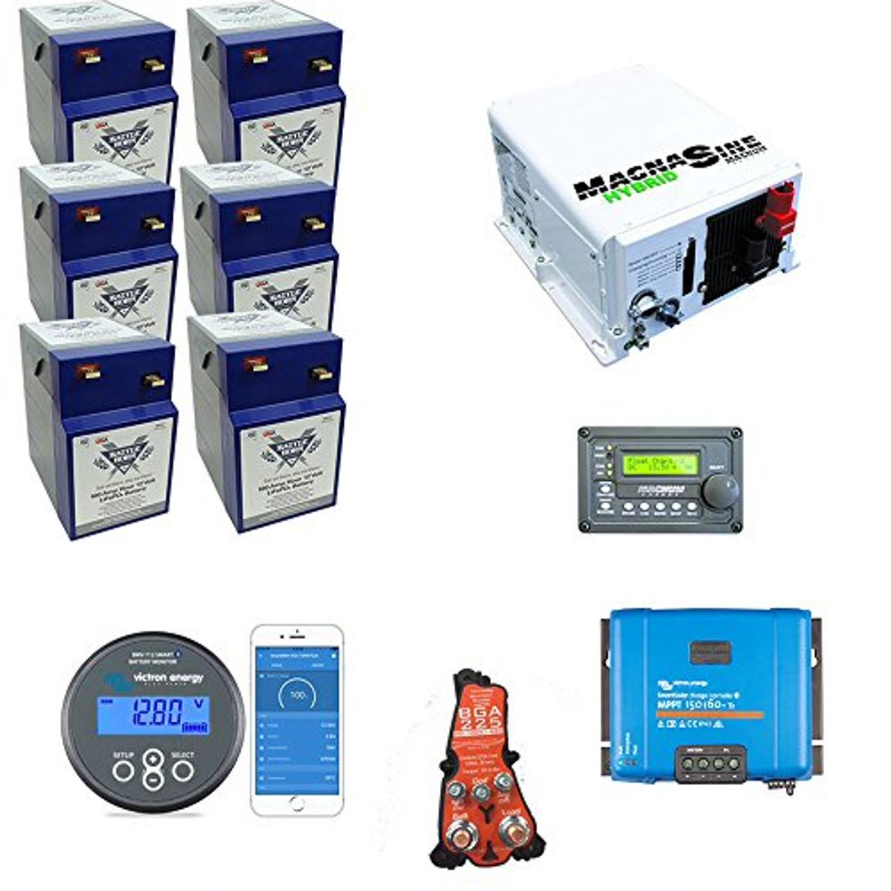 Battle Born Batteries Always On Liberty 600ah amp Lithium Bundle