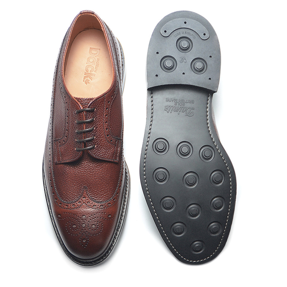 DUFFERIN - Burgundy Country Calf (Rubber Sole) - F