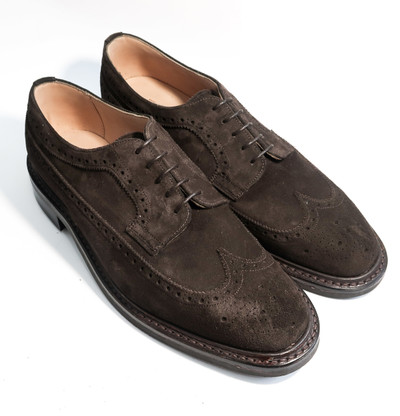 DUFFERIN - Brown Suede - F (RUBBER SOLE)