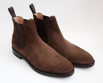 CARLETON - Brown Suede - F