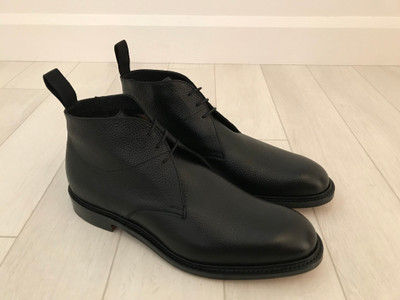 JULIEN - Black Grain Chukka Boot - F