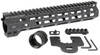 "MI 10.5"" Combat Rail One Piece Free Float Handguard, M-LOK(TM) compatible"