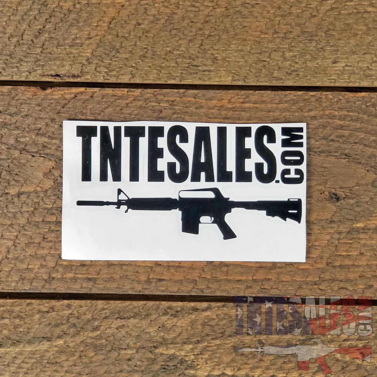 TNTE Sales Rifle Logo Vinyl Decal
