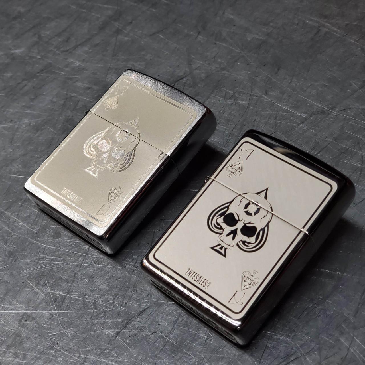 TNTE Death Card Zippo