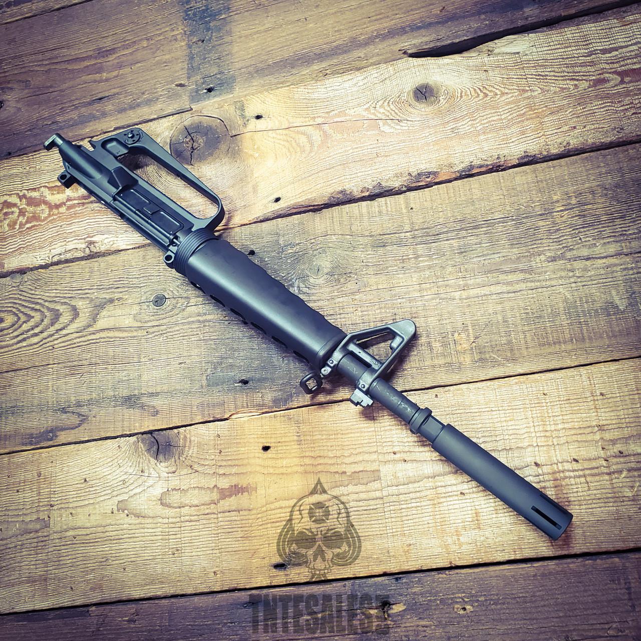 5.56 1/7 XM-177 C7 QPQ Style Upper Triangle