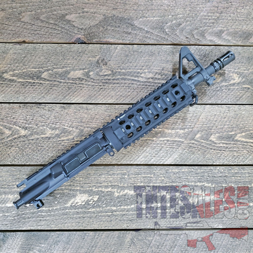 MK-18 QPQ 10.5 pistol upper 1/7  Enhanced Troy Rail
