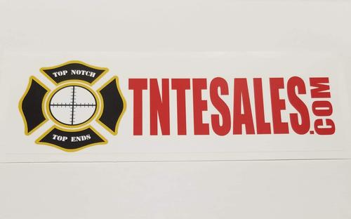 TNTE Sales Inc. Bumper Sticker (New Design)