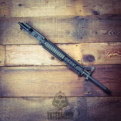 M-16 4150 1/7 CL DMR Upper with Knights M5 RAS