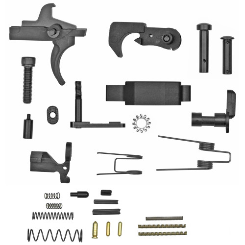 TPS Arms, AR-15 Enhanced Lower Parts Kit Without Pistol Grip