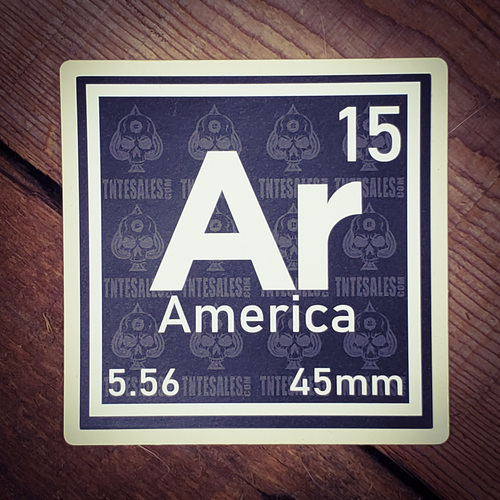 AR15 Element Sticker