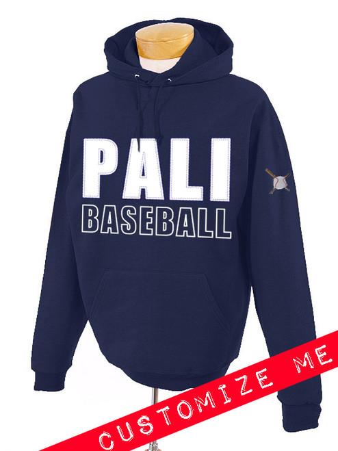 Pali High Baseball Twill Hoodie