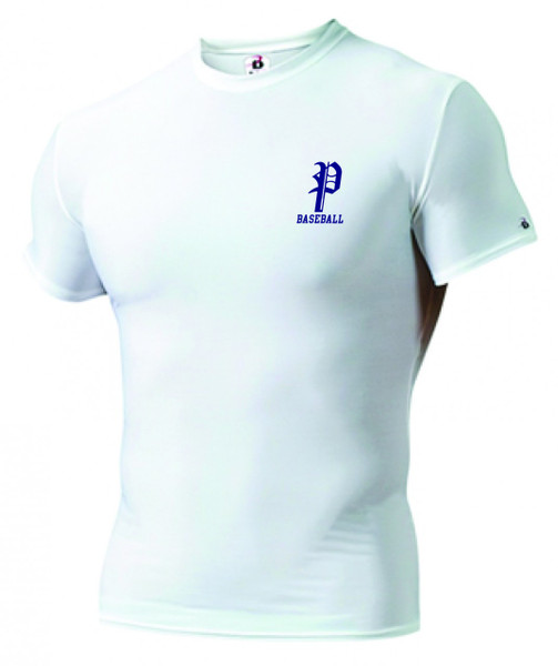 Pali Baseball Undershirt Tight Fitting Short Sleeve