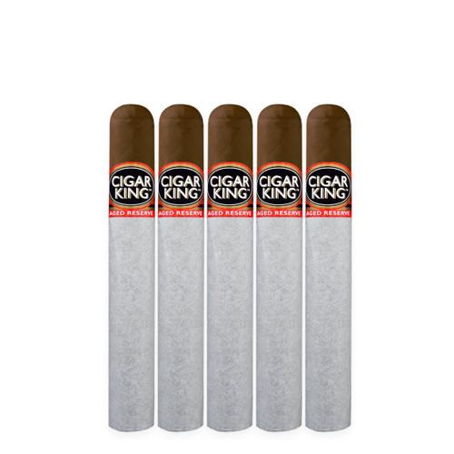 Cigar King Aged Reserve Maduro Robusto (5x50 / 5 Pack)