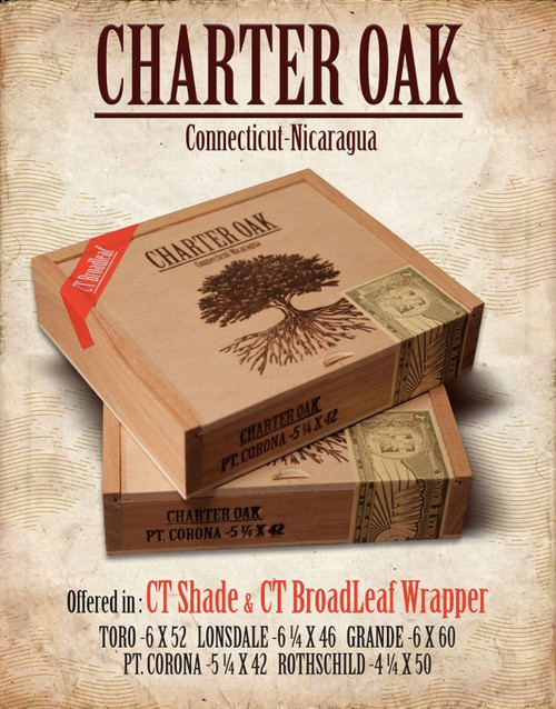 Charter Oak Shade Rothschild (4.5x50 / Box 20)