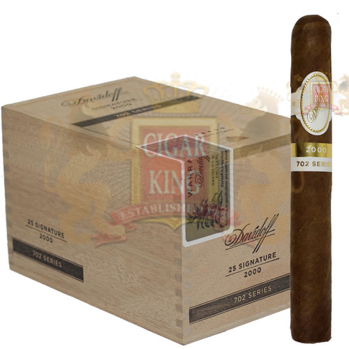Davidoff 702 Series Signature 2000 (5 1/16x43 / Box 25)