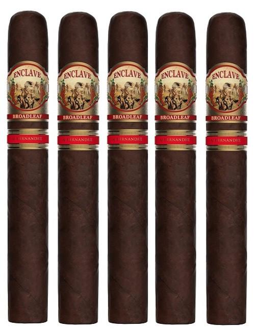 AJ Fernandez Enclave Broadleaf Robusto (5x52 / 5 Pack)