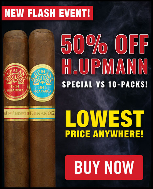 H. Upmann by AJ Fernandez vs H. Upmann Hispanola By Jose Mendez Toro (6x54 / 10 PACK BLOWOUT) + 50% OFF RETAIL!