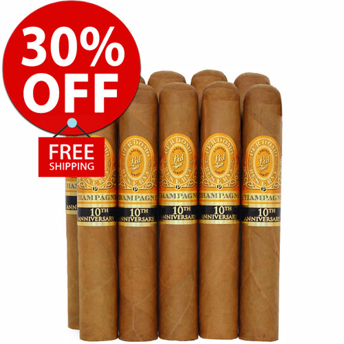Perdomo Reserve Champagne Robusto (5x54 / 10 PACK SPECIAL) + 30% OFF RETAIL! + FREE SHIPPING ON YOUR ENTIRE ORDER!