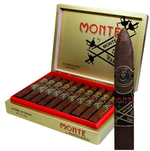 Monte by Montecristo and AJ Fernandez Belicoso (6.125x54 / Box of 20)