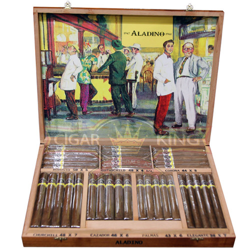 Aladino Cigar Master Chest (Box of 70) + FREE SHIPPING ON YOUR ENTIRE ORDER!