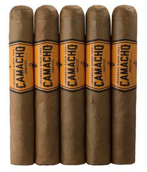 Camacho Connecticut Robusto (5x50 / 5 Pack)