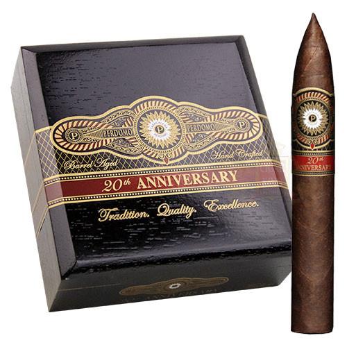 Perdomo 20th Anniversary Maduro Torpedo (6.5x54 / 4 Pack)