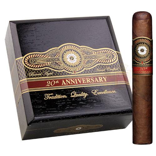 Perdomo 20th Anniversary Maduro Gordo (6x60 / 4 Pack)
