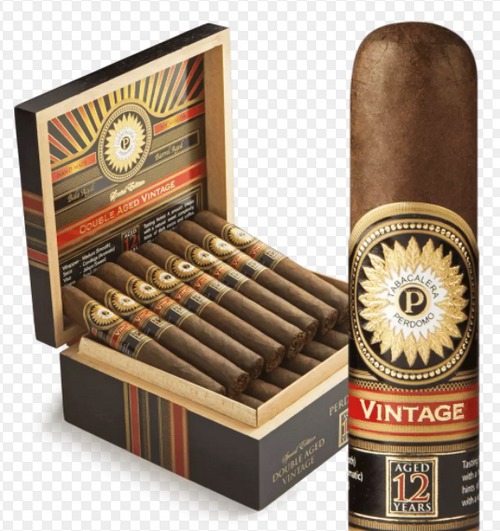 Perdomo Double Aged 12 Year Vintage Maduro Churchill (7x56 / 4 Pack)