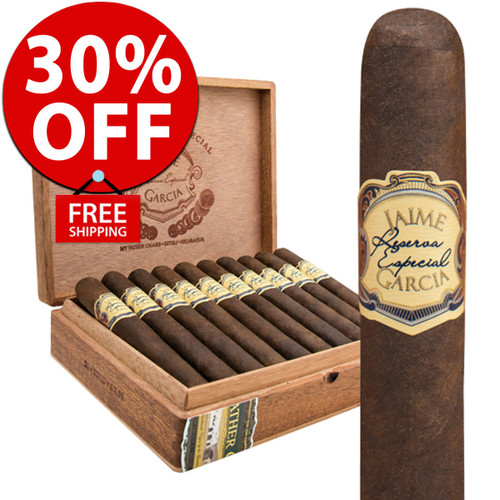 Jaime Garcia Reserva Especial Robusto (5.25x52 / 10 PACK SPECIAL) + FREE SHIPPING ON YOUR ENTIRE ORDER!