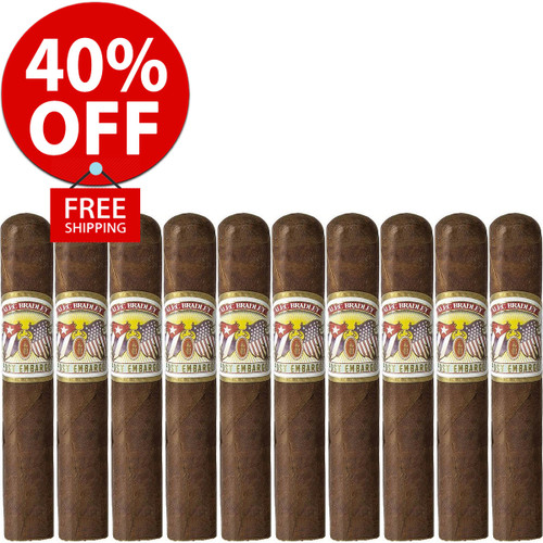 Alec Bradley Post Embargo Robusto (5x52 / 10 PACK SPECIAL) + 40% OFF RETAIL!