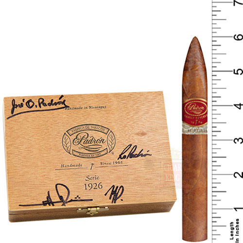 Padron Family Reserve No. 44 Natural (6x52 / Pack 5)
