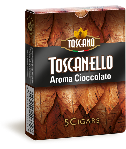 TOSCANELLO Cioccolato (3x38 / Pack Of 5)