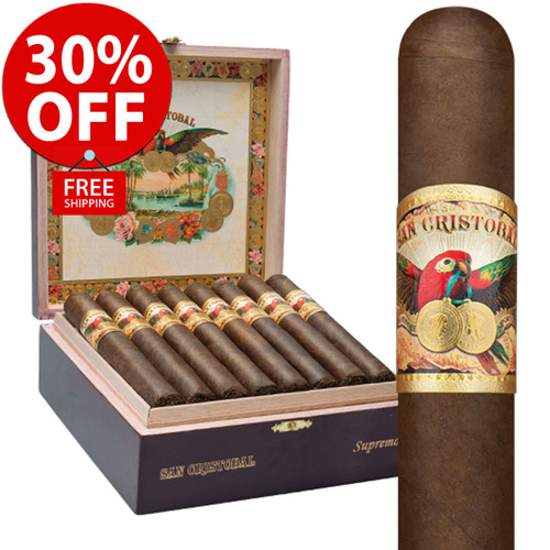 San Cristobal Papagayo (5.75x55 / 10 PACK SPECIAL) + 30% OFF RETAIL! + FREE SHIPPING ON YOUR ENTIRE ORDER!