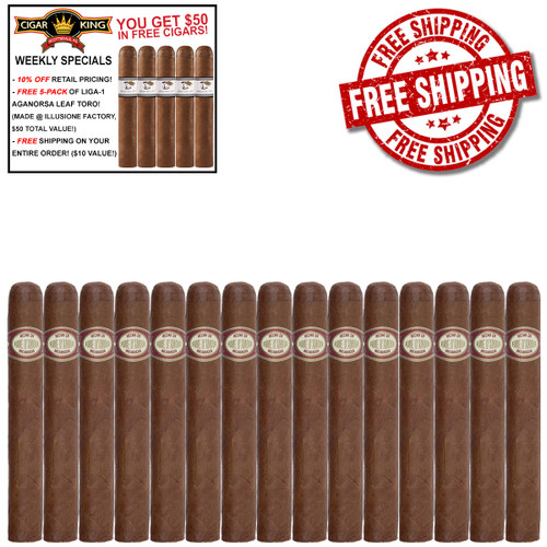 Illusione Fume D'Amour Lagunas (4.25x42 / 15 PACK SPECIAL) + FREE 5-PACK LIGA-1 CK AGANORSA LEAF TORO + FREE SHIPPING ON YOUR ENTIRE ORDER!