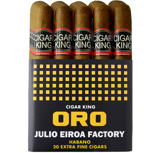 Cigar King Oro By Aladino Habano Corona (5x44/ Bundle Of 20) + FREE SHIPPING ON YOUR ENTIRE ORDER!