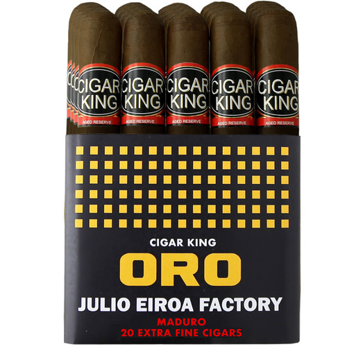 Cigar King Oro By Aladino Maduro Corona (5x44 / Bundle Of 20) + FREE SHIPPING ON YOUR ENTIRE ORDER!