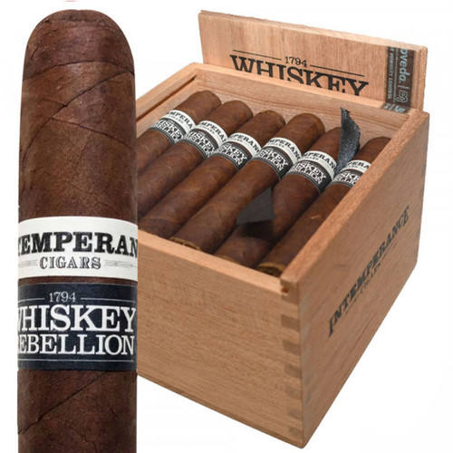 Intemperance Whiskey Rebellion 1794 Jefferson By RoMa Craft (4.5x52 / Box 24) + FREE SHIPPING ON YOUR ENTIRE ORDER!