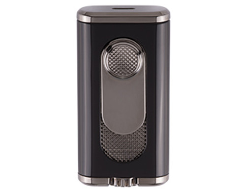 XIKAR Verano Flat Flame Black Lighter