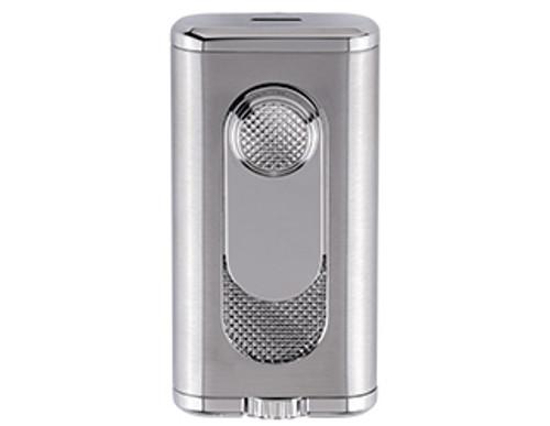 XIKAR Verano Flat Flame Silver Lighter