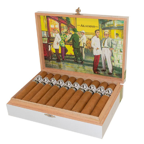 Aladino Connecticut By Julio R. Eiroa Robusto (5x50 / Box 20)