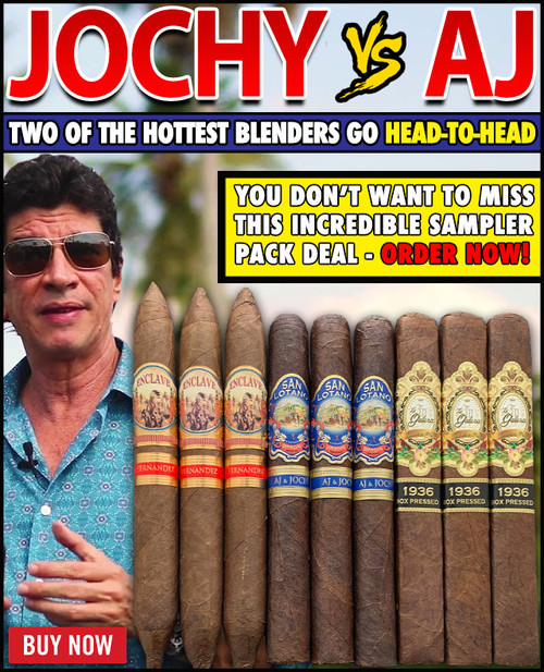 AJ Fernandez VS Jochy Blanco Best Of Sampler (9 CIGAR SAMPLER) + FREE SHIPPING ON YOUR ENTIRE ORDER!