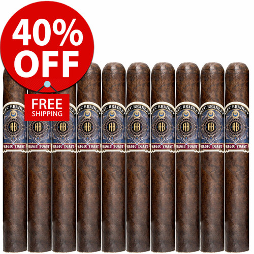 Alec Bradley Magic Toast Toro (6x52 / 10 PACK SPECIAL) + 40% OFF RETAIL! + FREE SHIPPING ON YOUR ENTIRE ORDER!